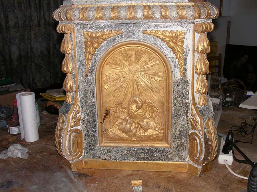 travail de restauration 16 à Mer │ Dominique Eymond