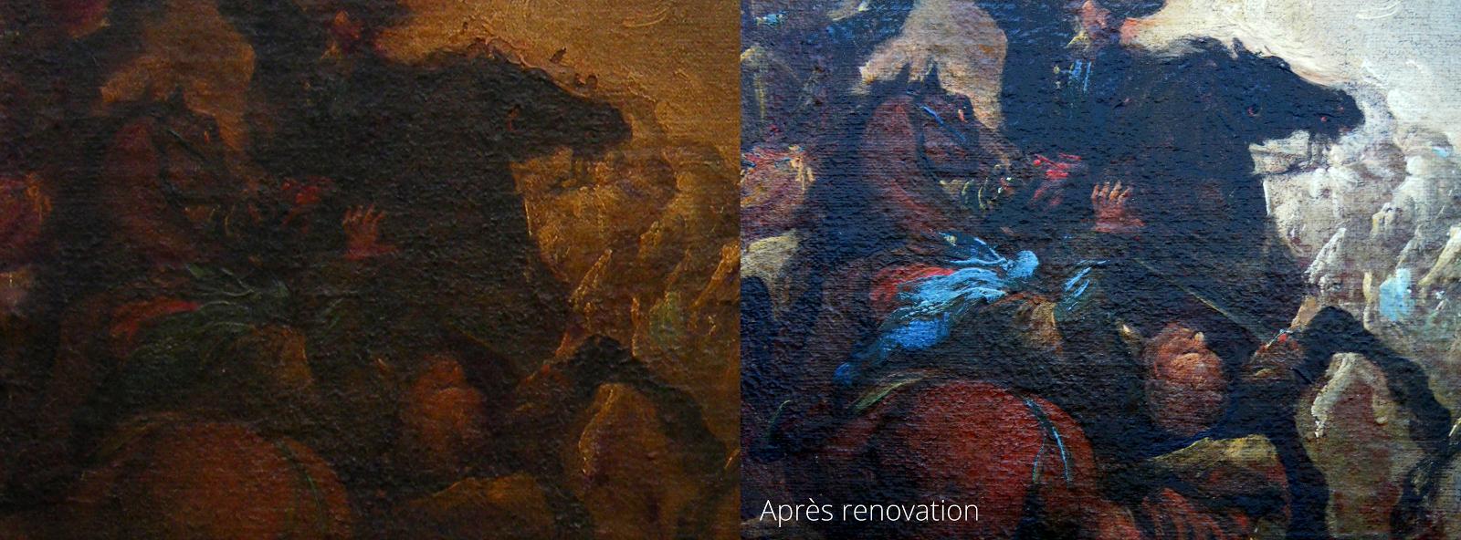 travail de restauration 13 à Mer │ Dominique Eymond