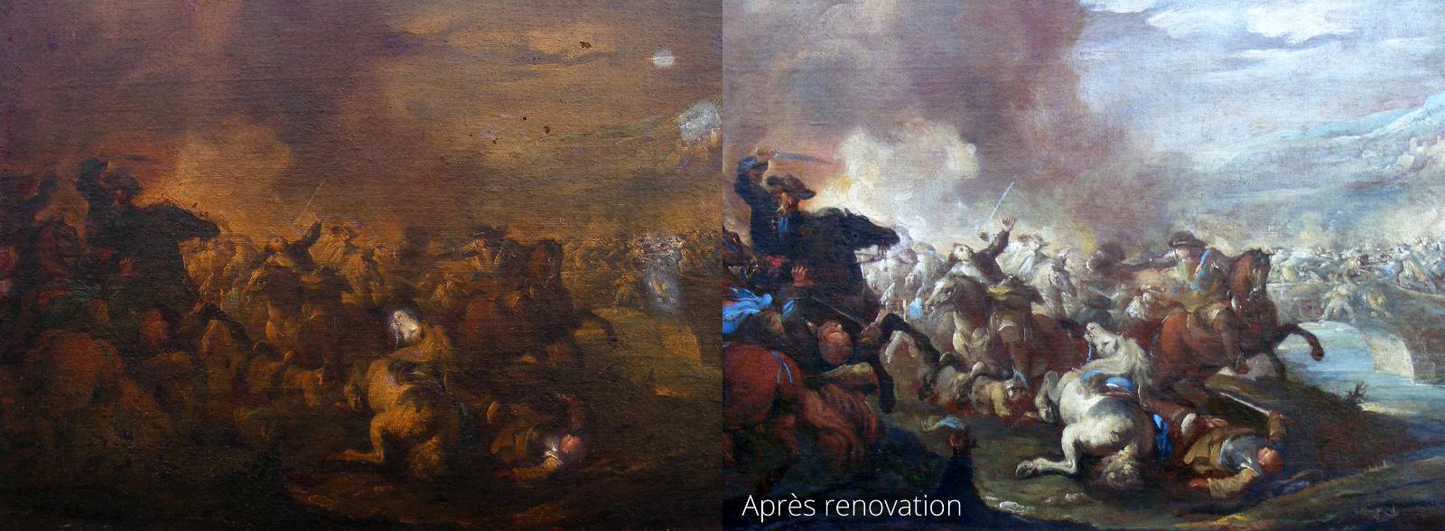 travail de restauration 12 à Mer │ Dominique Eymond