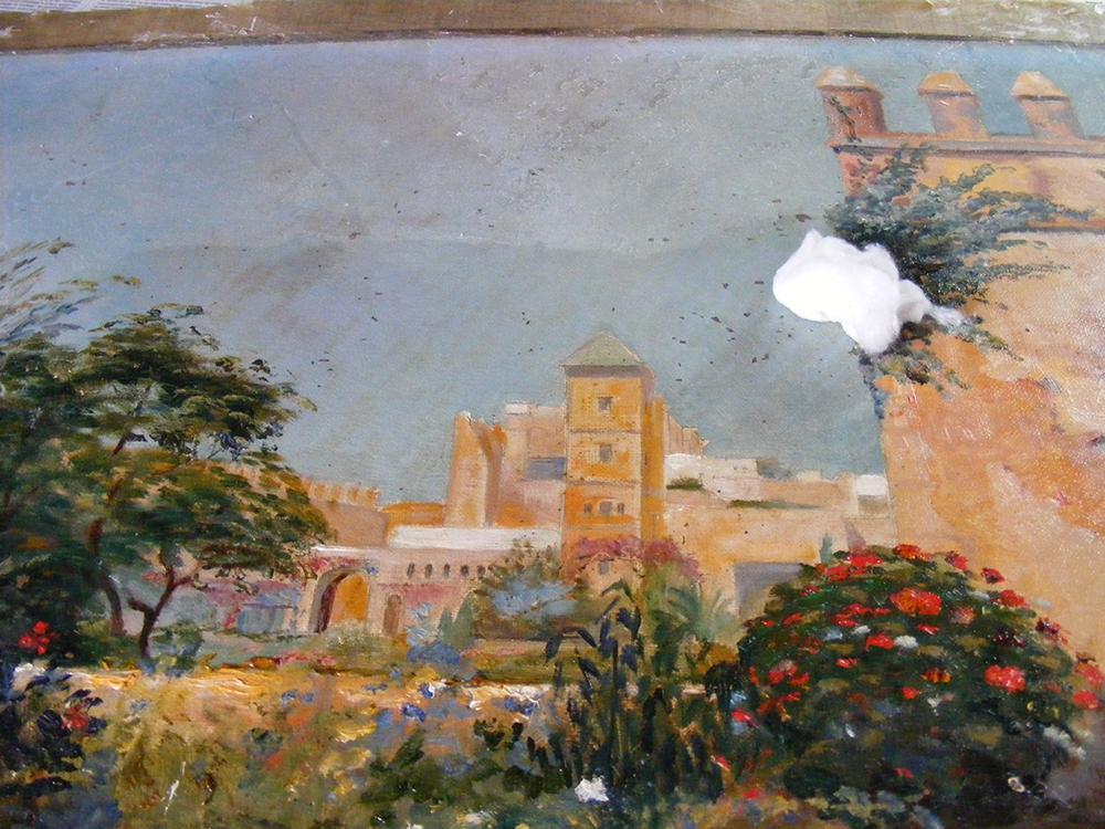 travail de restauration 03 à Mer │ Dominique Eymond